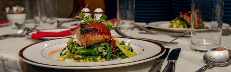 Moorlander Dining Train Salmon