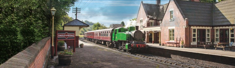 2944 Leaving Froghall Station
