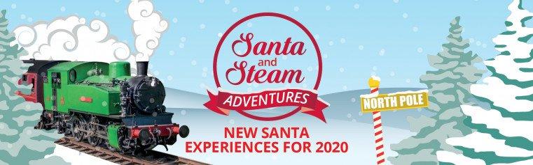 Santa and Steam Banner 2020