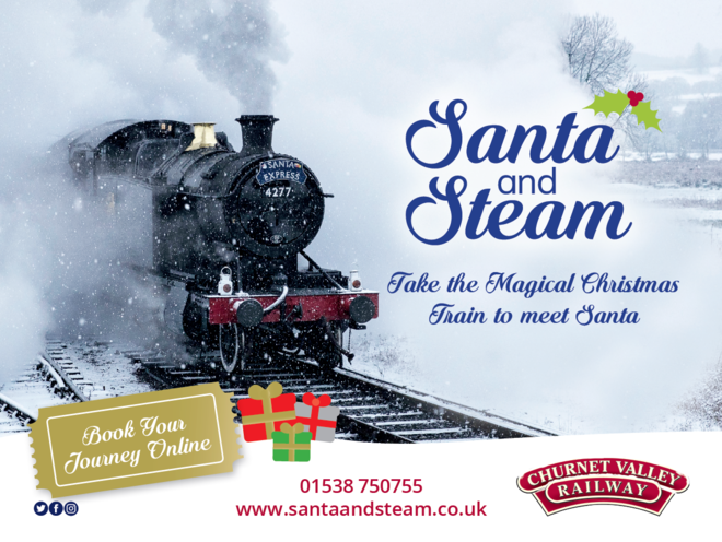 Santa and Steam 2019
